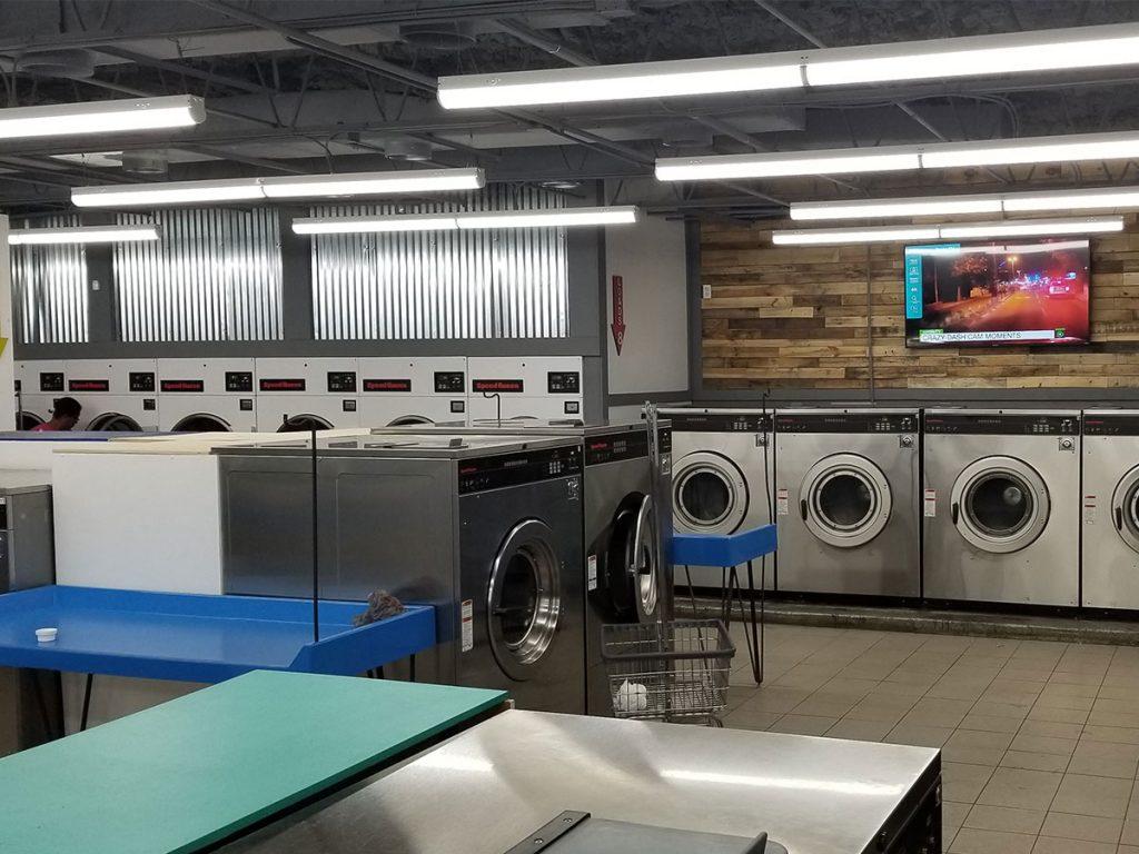 Tampa laundromat on Busch Blvd