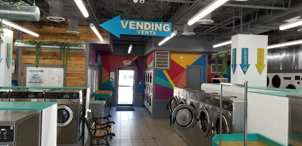 Vending Machines at Busch Laundromat in Tampa